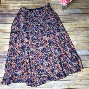 Dresses & Skirts - NWOT High Waisted, Floral Print Maxi Skirt